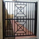 DW37 - Wraught Iront Single Gate