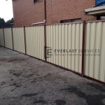 CB4 - Colorbond Fence