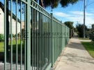 SF1  Green Oxley Ring Steel Double Gate