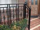 SF41 – Black Steel Custom Pattern Balustrade