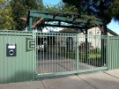 SF2 – Green Oxley Ring Steel Fencing With Mailbox
