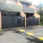 SS117 - 516 Moreland Road Horizontal Aluminium Slats Single Gates