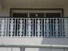 SF53 – Custom Wraught Iron Pattern Balustrade Handrails