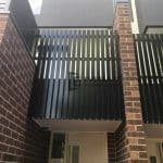 A155 - 566 Moreland Road Vertical Slats Balustrade