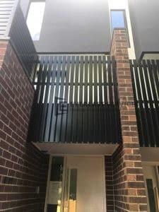 A155 - 566 Moreland Road Vertical Slats Balustrade