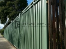 SF4 – Green Oxley Ring Fenicng Panel with Back Cladding