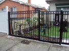 SF68 – Black Oxley Ring Fencing Panels