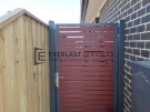 SS100 – 75 x 16 Jarrah Slats Single Gate