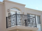 SF76 – Custom Made Wraught Iron Balustrade – Werribee