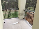 SF81 – Black Custom Oxley Cross Balustrade View 2