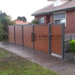 A1 - Woodland Grey Posts + WRC Slats with Single Gate