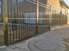 SF148 – Black Steel Oxley Ring Fence