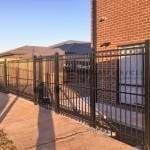 SF149 - Black Steel Oxley Ring Fence 2