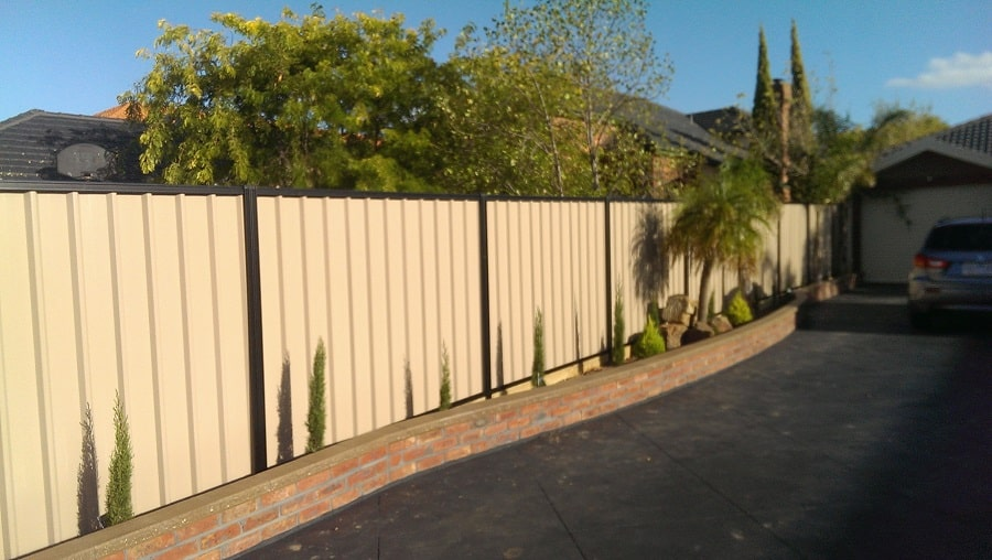 Colorbond Fencing by Everlast Services
