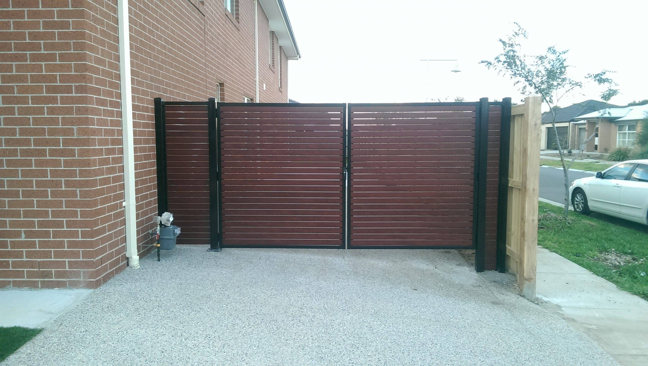 Driveway Gates Melbourne - Aluminium & Wrought Iron Gate Prices