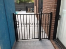 SF111 – Black Flat Top Single Gate