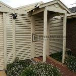 A112 - Primrose Slats Single Gate with Infill Panels