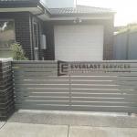SG59 - Slats Driveway Sliding Gate