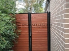 SS102 – Slats Single Gate + Panel