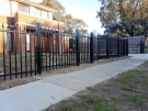 Square-Level-Spear-Steel-Fencing