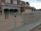 SF114 – Steel Fencing + Perforated Sheeting 3 (Heritage Design)