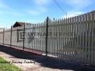 SF124 – Steel Picket Fence