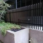 A190 - Vertical Blade Aluminium Fence