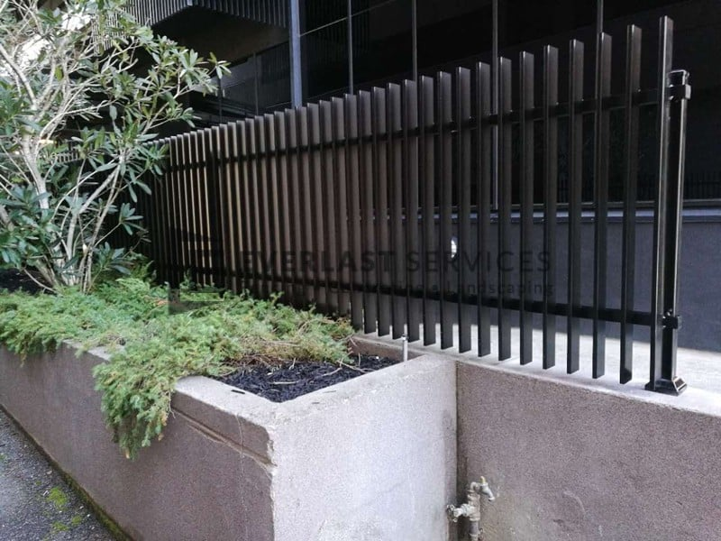 Aluminium Fencing Melbourne Metal Slat Fence Quotes