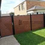 A117 - WRC Slats Single Gate + Fencing