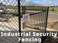Industrial Security Fencing