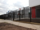 IS4 – Rod Top Factory Fencing Sliding Gate at Ravenhall