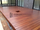 T13 – Frameless Timber Decking wtih Plant Hole