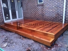 T18 – Small Outdoor Timber Decking with Step
