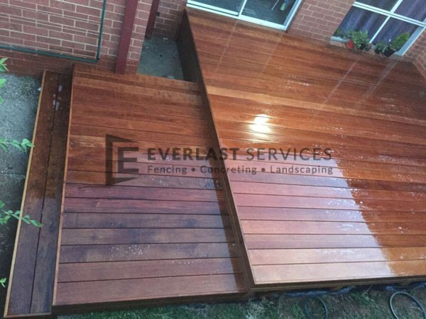T2 - Merbau Decking with Step