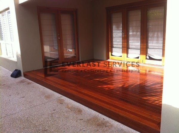 T24 - Alfresco Area Merbau Decking