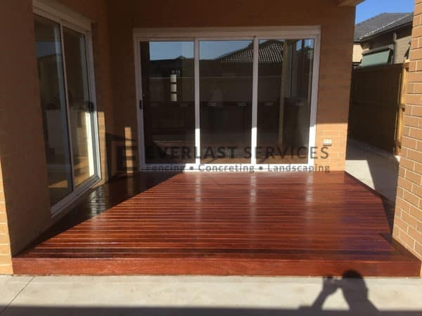 T8 - Merbau Decking In Alfresco