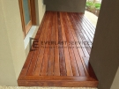 T9 – Front Porch Timber Decking with Oil