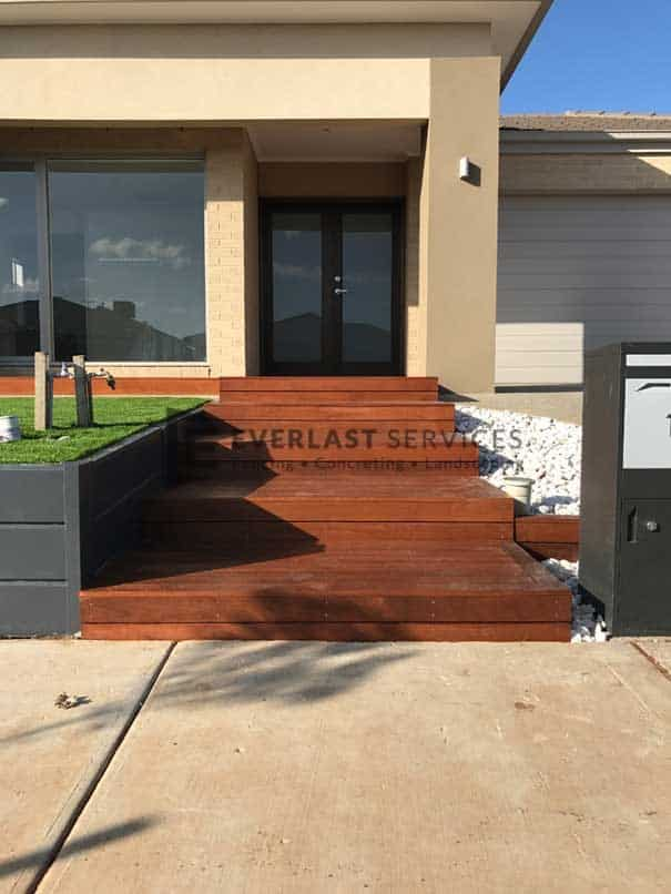T59 - Merbau Decking Stairs