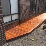 T50 - Timber Decking Side of House