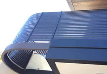 Custom Bent Slats - Melbourne