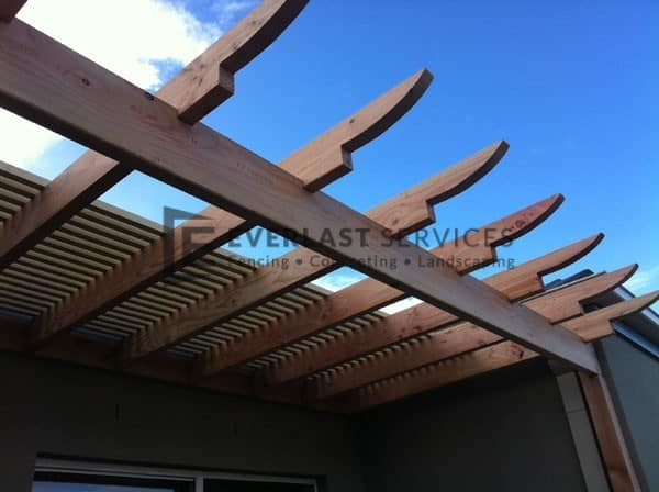 L14 - Timber Cut Feature Pergola