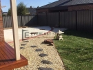 L40 – Japanese Pebble Garden Landscaping View 2