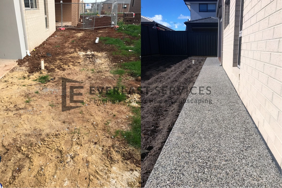 EA48 - Before and After Exposed Aggregate