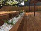 L65 – Black Butt Decking + Raised Garden Box