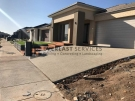L63 – Merbau Decking Stairs + Exposed Aggregate + Synthetic Grass