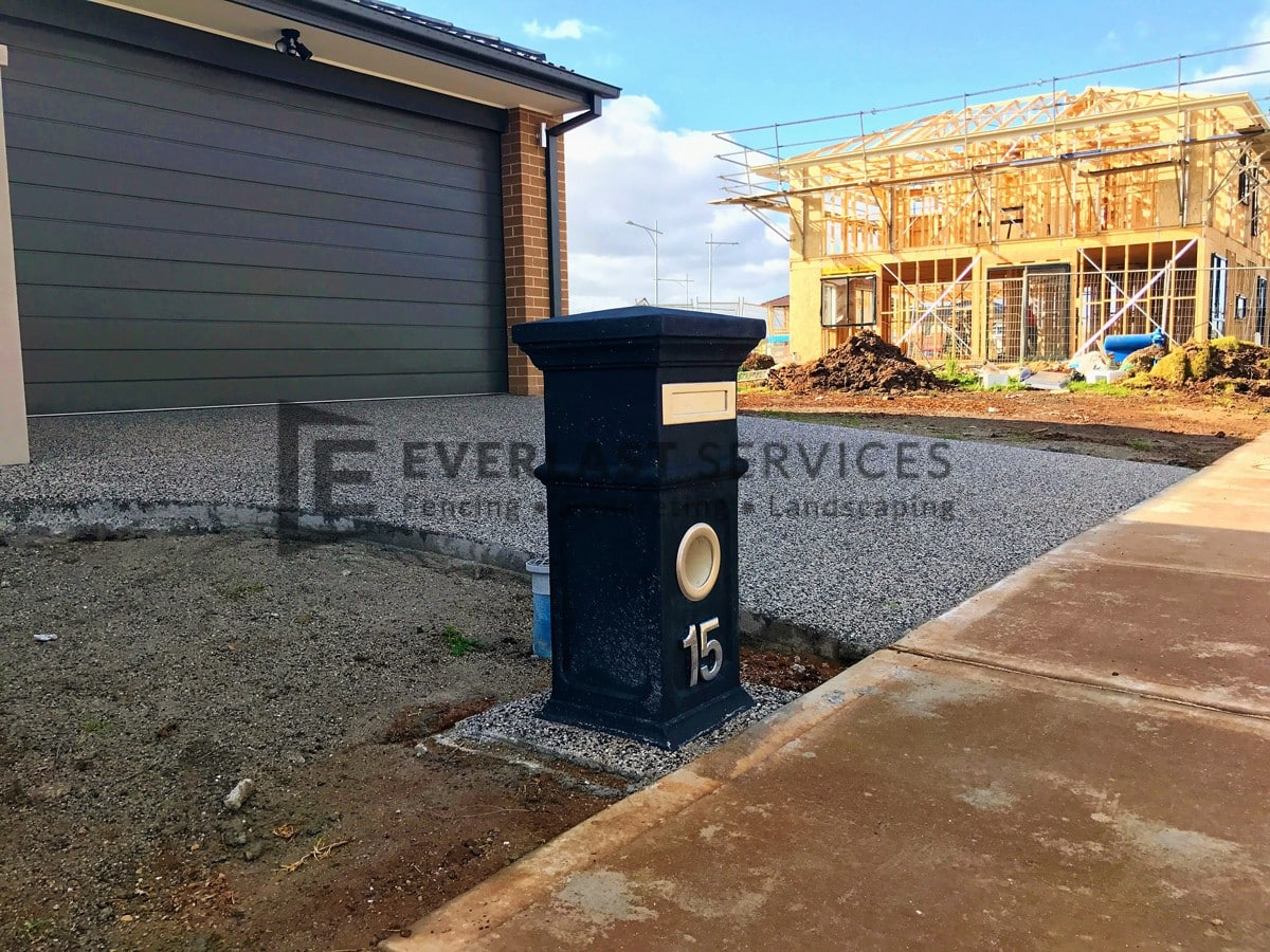 EA41 - Exposed Aggregate Driveway