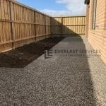 EA44 - Exposed Aggregate Footpath Backyard