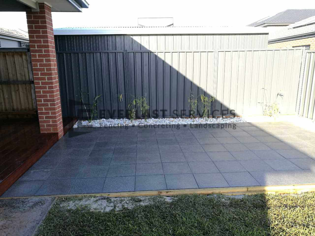 L109 - Landscaping Euro Stone Paving