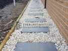 Stepping-Stone-White-Pebbles-Landscaping