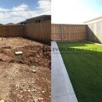 L62 - Synthetic Grass Before and After